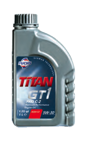 Titan gt1 pro c2  5w30