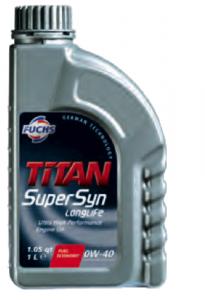 Titan GT1 Super Syn 0w40